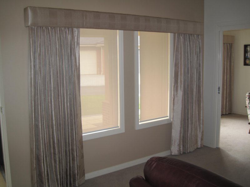 Curtains melbourne padded pelmets gallery